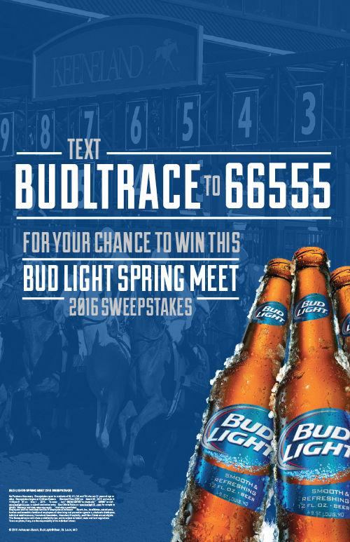 bud light keeneland new
